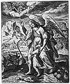 Анёл-ахоўнік. (з кнігі Жыціі святых з навукамі...), 1693 г..jpg