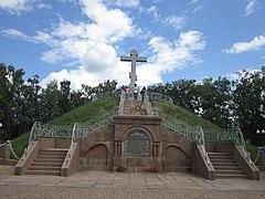 Братська могила 1345 російських воїнів (Поле Полтавської битви),