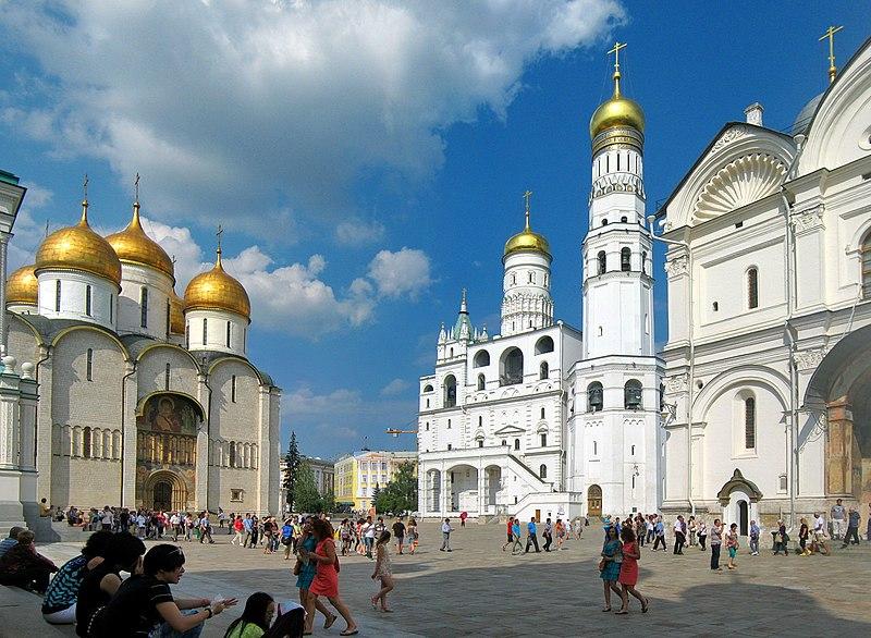 кремля2.jpg Колокольня Ивана Великого Соборная площадь