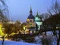 Комплекс Свято-Михайлівського Видубицького монастиря у Києві.jpg