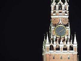 e13d2e9d Часы на Спасской башне — Википедия
