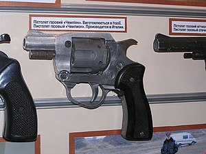 Gas pistol - Italian Champion gas revolver