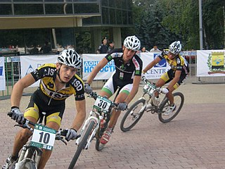 Cycling team organizational unit consisting of cyclists and carers