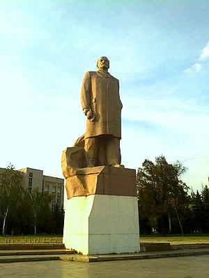 Horlivka - Lenin monument, Horlivka