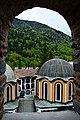 Поглед от Хрельовата кула, Рилски манастир, България, 2015.JPG