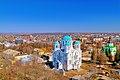 Трьоханастасіївська церква, вид з водонапорної вежі, м. Глухів, Сумська обл.jpg