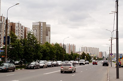 How to get to Улица Перерва with public transit - About the place