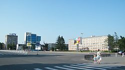 Skyline of Ussuriysk