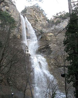 Uchan-su (waterfall) - Image: Учан Су