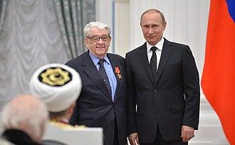 Order of Alexander Nevsky - Image: Церемония вручения государственных наград РФ 21 May 2015 18