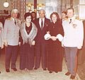 Член ВС ГСВГ Губин И.А. с супругой Посол СССР в ГДР Абрасимов П.А., Зайцева М.И. и Главком Зайцев М.М.. Берлин 1983..jpg