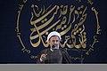 سخنرانی علیرضا پناهیان در جمع هیئت های مذهبی در قصر شیرین به مناسبت بیست و دوم بهمن ماه Alireza Panahian 20.jpg