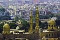 مسجد السيدة نفيسة من اعلى القلعة.jpg