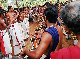 Kuzhal - Kuzhal aerophones and chenda drums