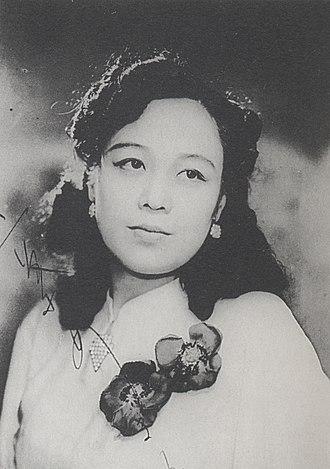 """Ryūkōka - Akiko Futaba, who sang """"Kōgen no Tsuki"""""""