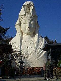Ōfuna Kannon Buddhist temple in Kamakura, Kanagawa, Japan