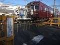 阪急電鉄 ハラカイ踏切道 - panoramio.jpg