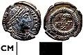 013B65. Roman coin, Siliqua of Jovian (FindID 264431).jpg