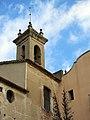 014 Sant Jeroni de la Murtra, el campanar des del pati.JPG