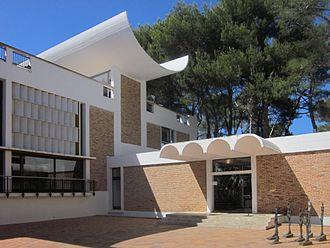 Fondation Maeght - The Fondation Maeght building in Saint-Paul de Vence, France.