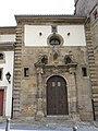 037 Col·legiata de San Juan Bautista, pl. Fermín García Bernardo (Cimavilla, Gijón), portal.jpg