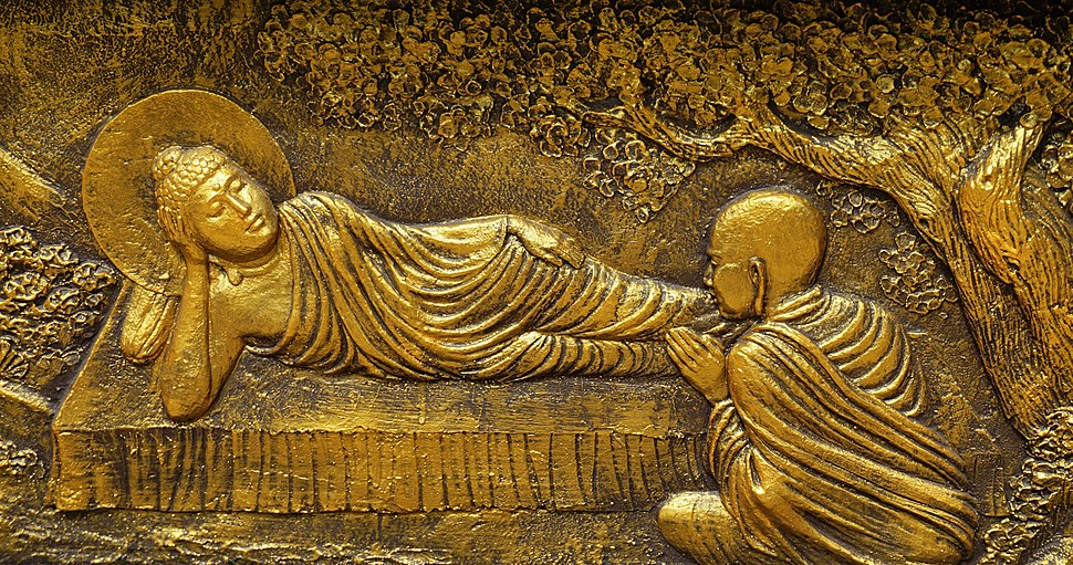 040 Ananda worships Buddha (25595318747)