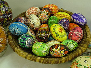 Easter Monday - Easter eggs from the Czech Republic