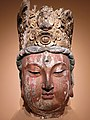 0960 - 1279 Seated Avalokiteshvara Bodhisattva Head Song Dynasty National Museum of China anagoria.jpg