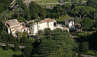 Pontifical Academy of Sciences - Casina Pio IV, home of the academy