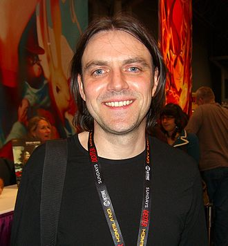 Frank Quitely - Quitely at the New York Comic Con, 14 October 2011
