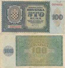 100 kuna 1941