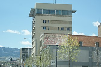 100 North Center, Casper, WY, looking south.jpg
