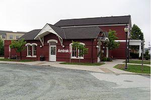 Charlottesville Union Station - Charlottesville station in July 2009