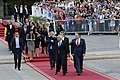 11 Marzo 2018, Ministra Cecilia Perez participa en la llegada del Prdte. Sebastian Piñera a La Moneda. (40756198771).jpg