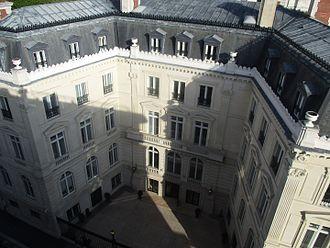 Capgemini - Capgemini headquarter at Place de l'Étoile, Tilsitt.