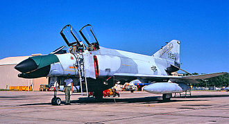 122d Fighter Squadron - 122nd TFS McDonnell F-4C-19-MC Phantom 63-7552 in ADTAC air defense livery
