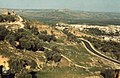 14th Century tombs and olives above Fes Medina. Half million people (37086034113).jpg