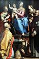 1572 Sabatini Maria mit segnendem Kind und Heiligen anagoria.JPG