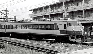 157 series - KuMoHa 157-2 in March 1980