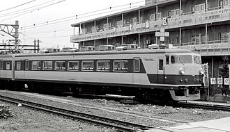 157 series - KuMoHa 157-2 in March 1980