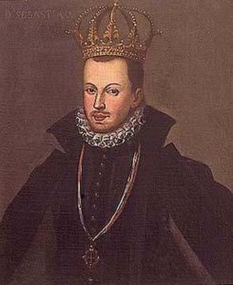 Gabriel de Espinosa - Portrait of Sebastian of Portugal, impersonated by Gabriel de Espinosa.
