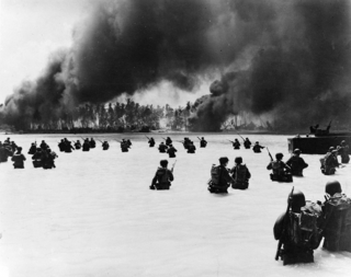 Battle of Makin Engagement of the Pacific campaign of World War II from 20 to 23 November 1943