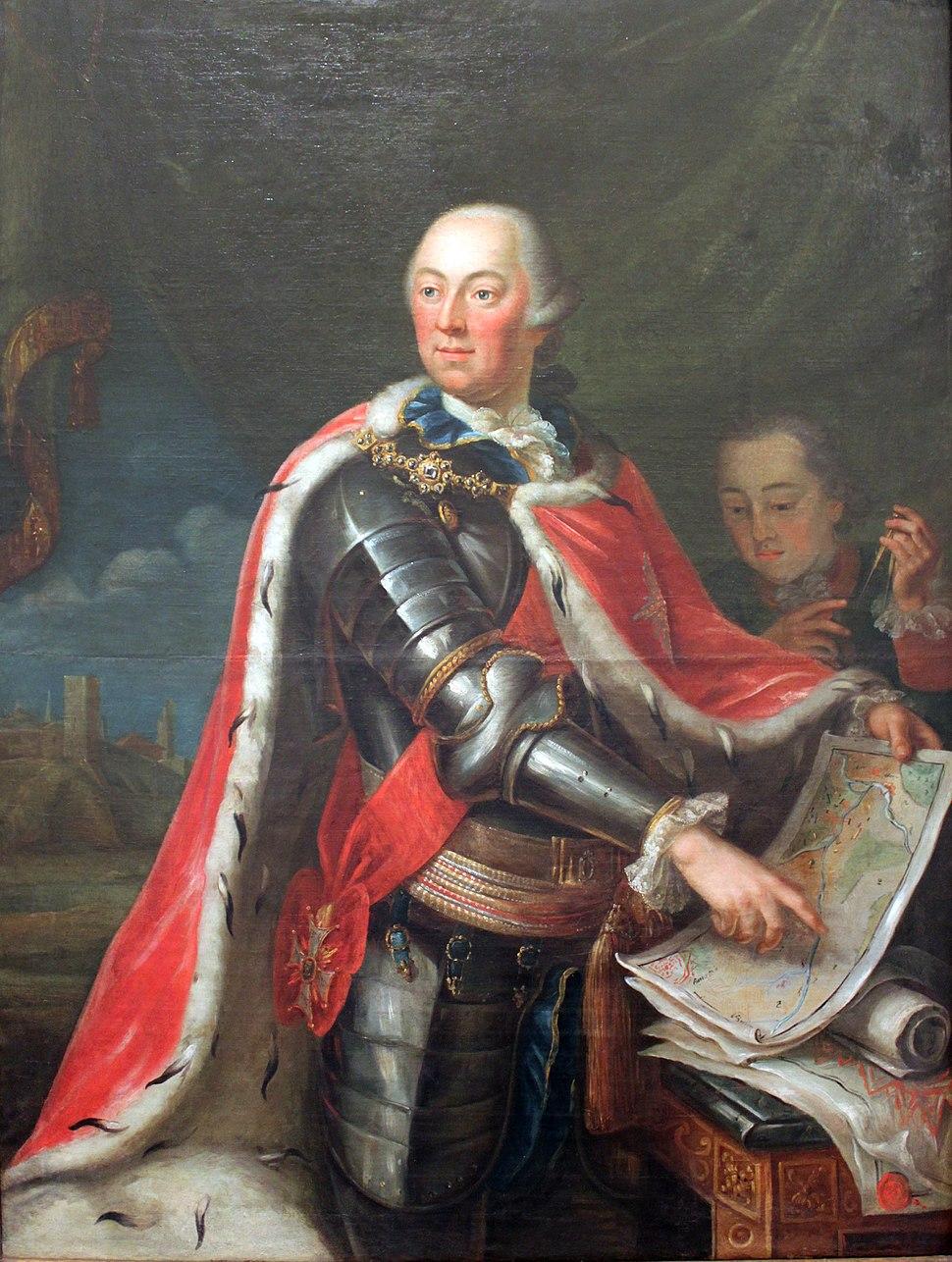 1780 Guibal Portrait Herzog Carl Eugen von Württemberg anagoria
