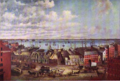1854 BostonHarbor from FortHill byJohnWAScott BostonianSociety.png