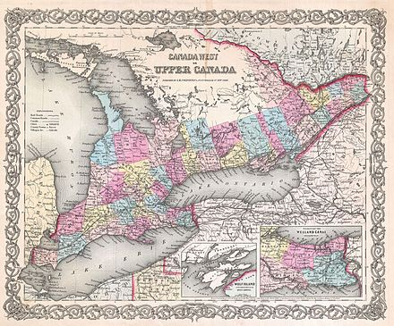 List of cities and towns of Upper Canada Wikiwand