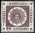 1859 60c lilac stamp Uruguay.jpg