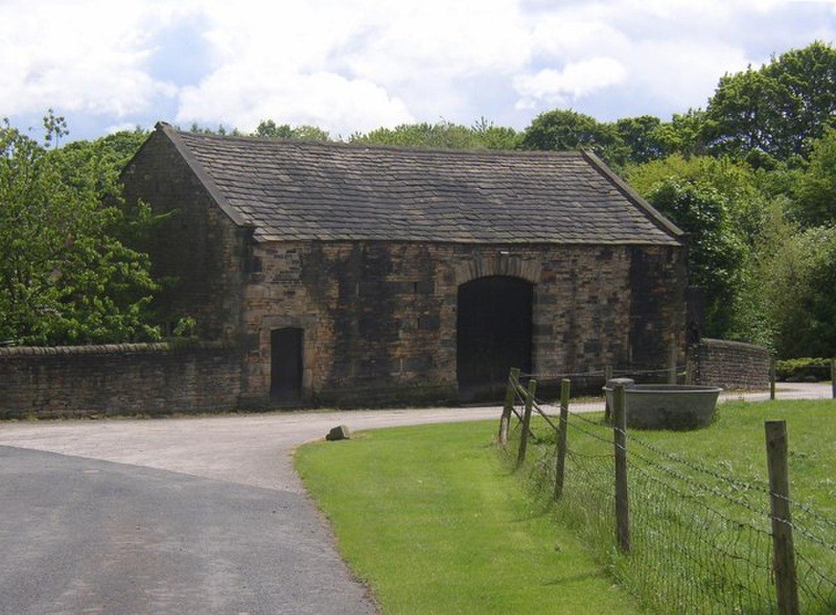18C barn, Kirklees Home Farm, Clifton - geograph.org.uk - 178213.jpg