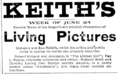 1901 Keiths BostonEveningTranscript June22.png