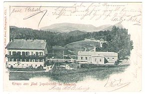 1903 postcard of Topolšica.jpg