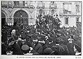 1906-03-03, Blanco y Negro, El cortejo fúnebre de Manuel Fernández Caballero ante la puerta del Teatro de Apolo, Goñi.jpg